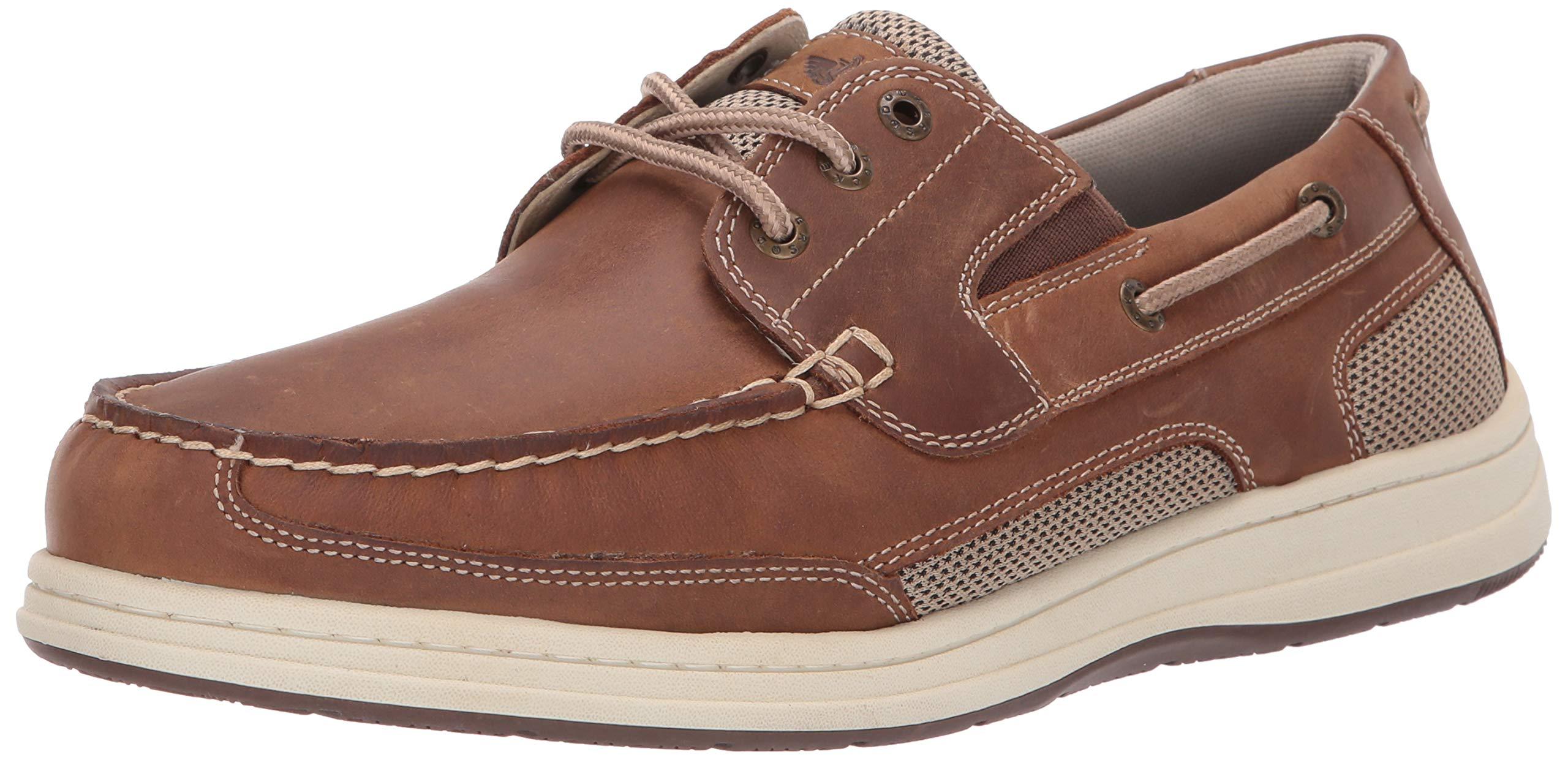 Dockers Men's Beacon Shoe, Dark Tan, 13 W US