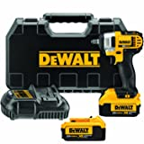 DEWALT 20V MAX Cordless Impact Wrench Kit with