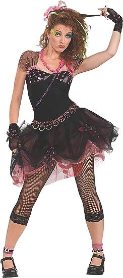 Rubbies - Disfraz de diva años 80 para mujer, talla UK 10-12 ...