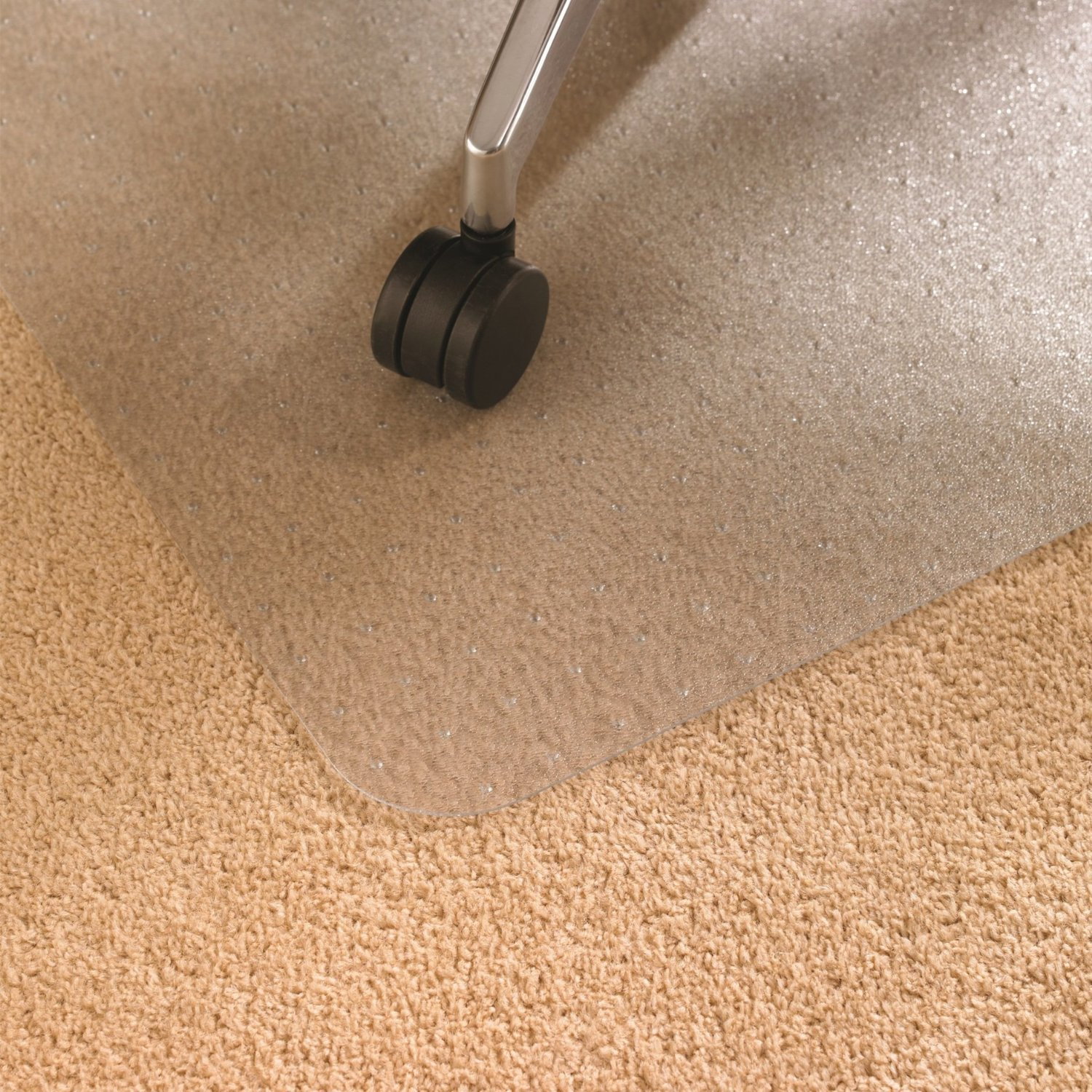 amazon com floortex polycarbonate chair mat for carpets to 1 2