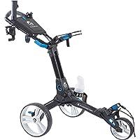 Caddiester Golf Push Cart X1-EP Quick Fold Deluxe 3 Wheels