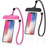Arae Waterproof Cellphone Dry Bag Phone Pouch Compatible for iPhone 12 Pro 11 Pro Max XS XR X 8 7 Plus Samsung Galaxy S21/20