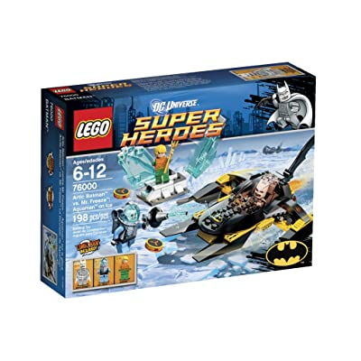 LEGO Super Heroes Arctic Batman vs Mr Freeze 76000: Toys & Games