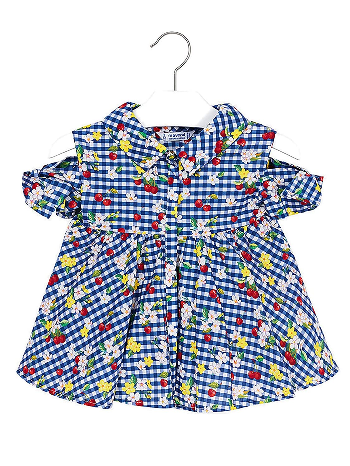 Printed Blouse for Girls 3108 Mayoral Blue