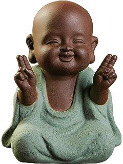Amazon.com: KINGZHUO - Figura decorativa de bebé buda de ...