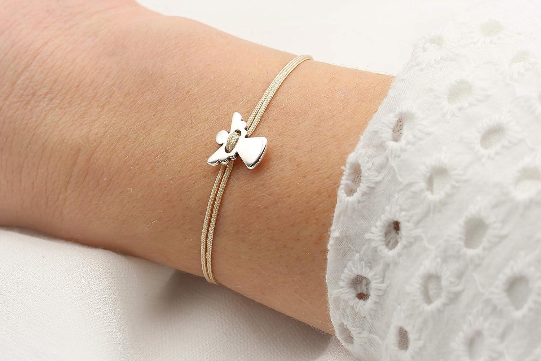 Makramee Armband Farbwahl Glücksbringer Geschenk