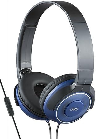 JVC HA-SR225-A-E - Auriculares de Diadema Cerrados (diseño portátil, Control Remoto y micrófono, reproducción de Sonido Superior) Azul: Amazon.es: ...