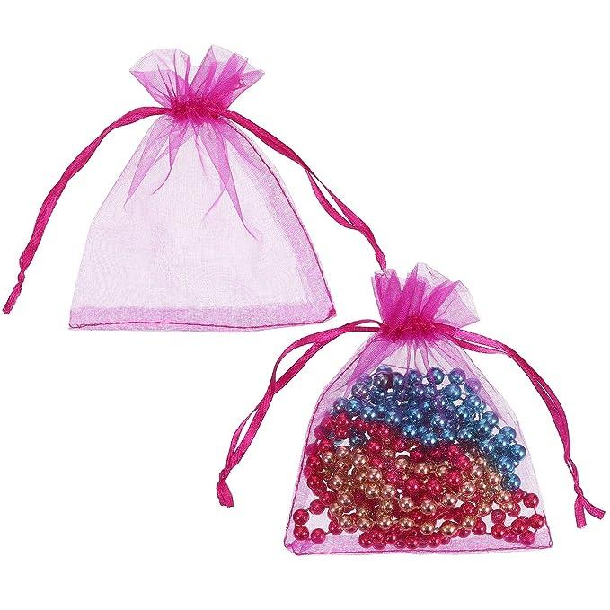 Amazon.com: Mudder - Bolsas de organza para regalo de boda ...