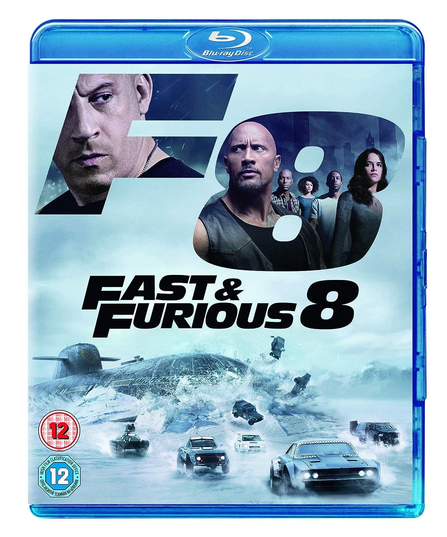 Amazon Com Fast And Furious 8 Blu Ray 2017 Region Free Movies Tv