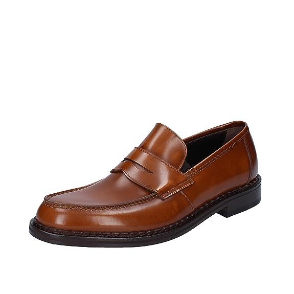 ROBERTO BOTTICELLI Mocasines Hombre Cuero marrón 44 EU: Amazon.es: Zapatos y complementos