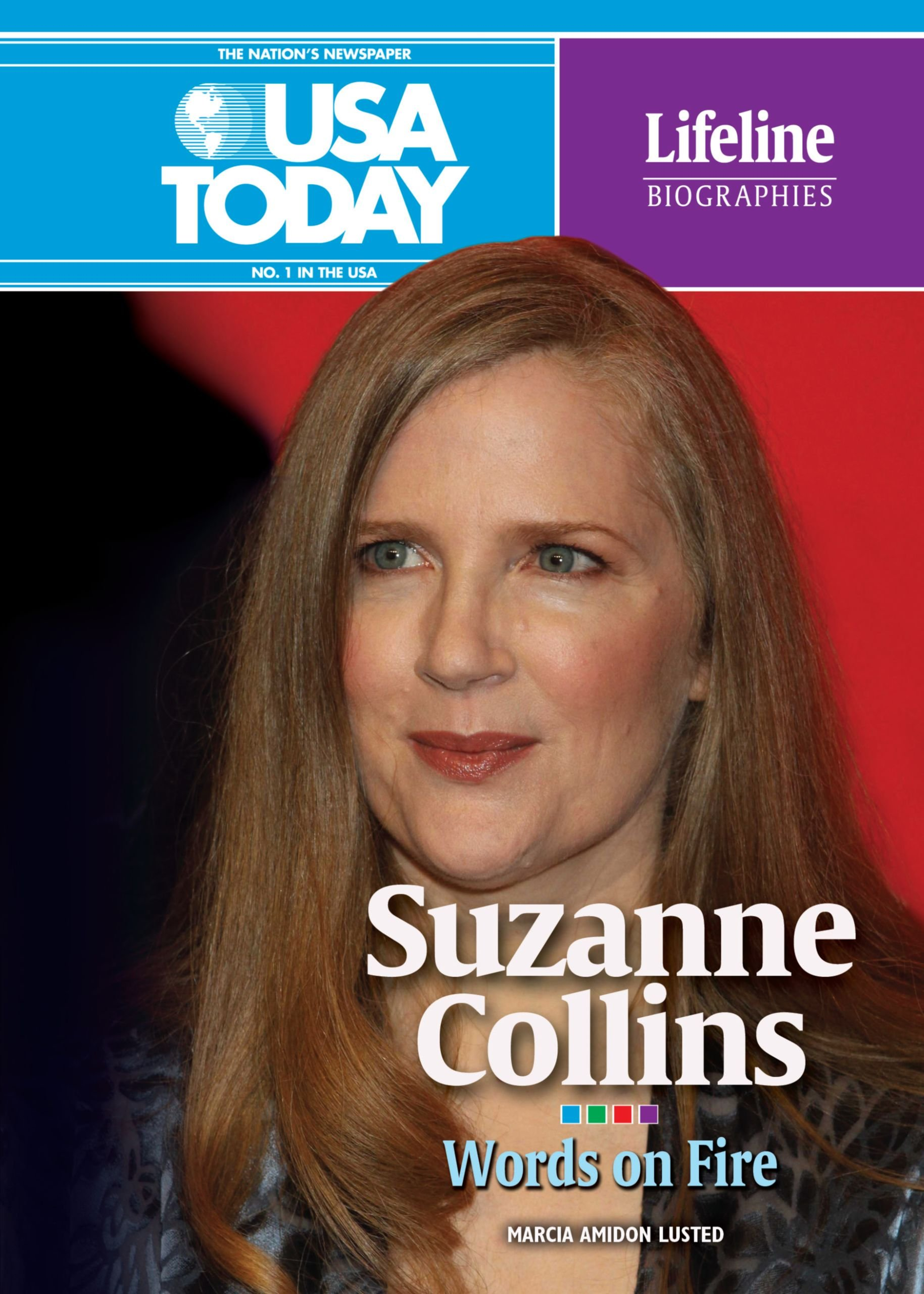 Suzanne Collins Words On Fire Usa Today Lifeline Biographies