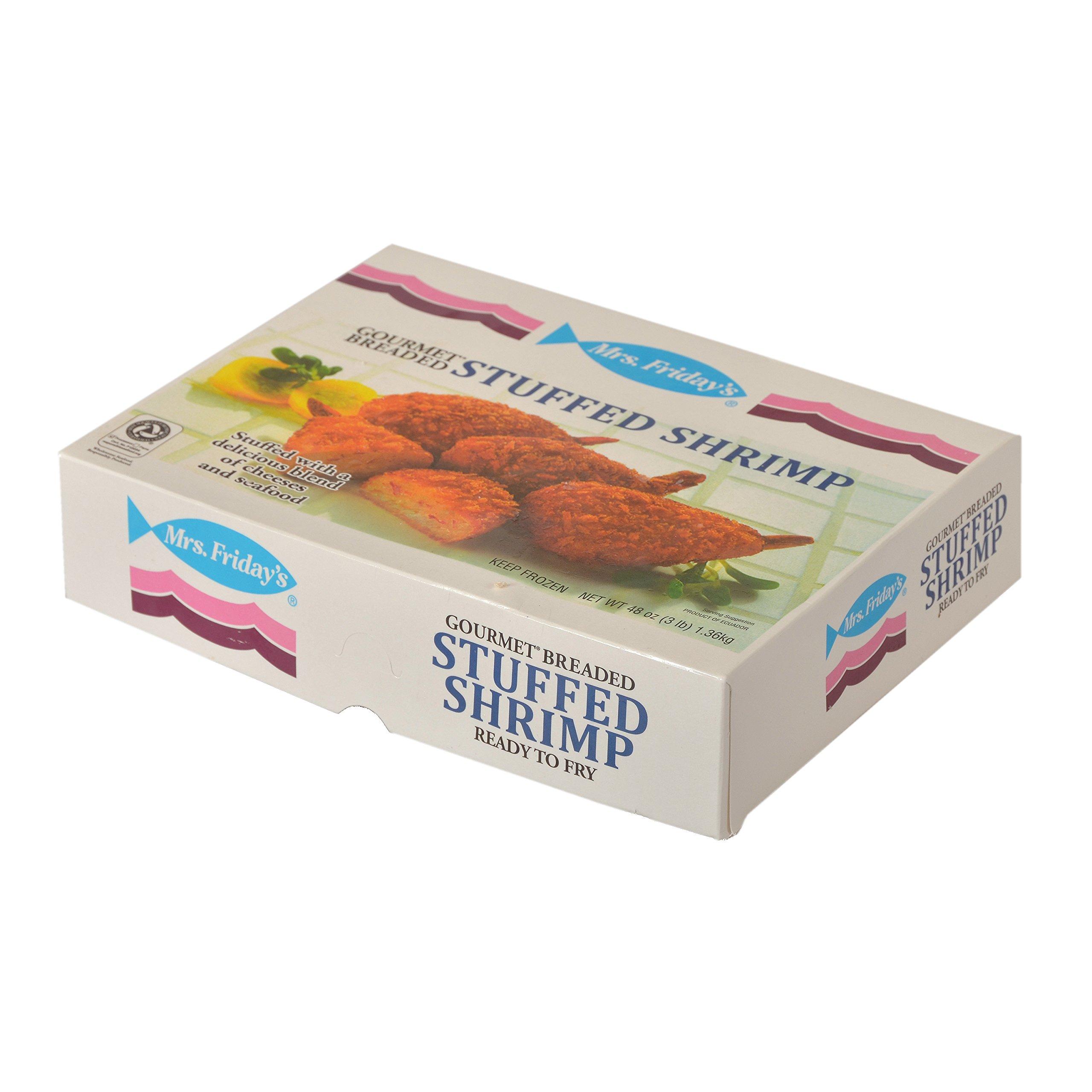 Mrs. Friday's Panko Breaded Stuffed Shrimp, 3 lb, (4 count)