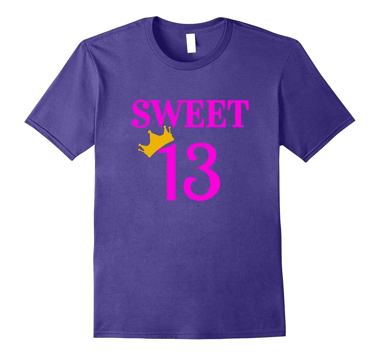 Birthday Girl Shirt 13 Sweet 13 T Shirt-FL