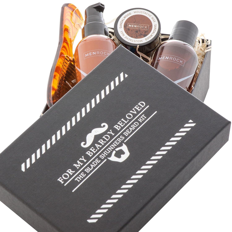 男性岩のひげケアキット (Men Rock) - Men Rock Beard Care Kit [並行輸入品] B01MD2822L