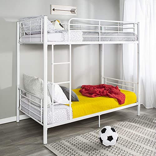 Home Accent Furnishings Sunrise Metal Twin-Over-Twin Bunk Bed