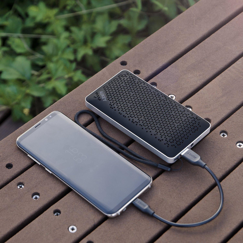 Tragbare Bluetooth Lautsprecher mit Powerbank / Bild: Amazon.de
