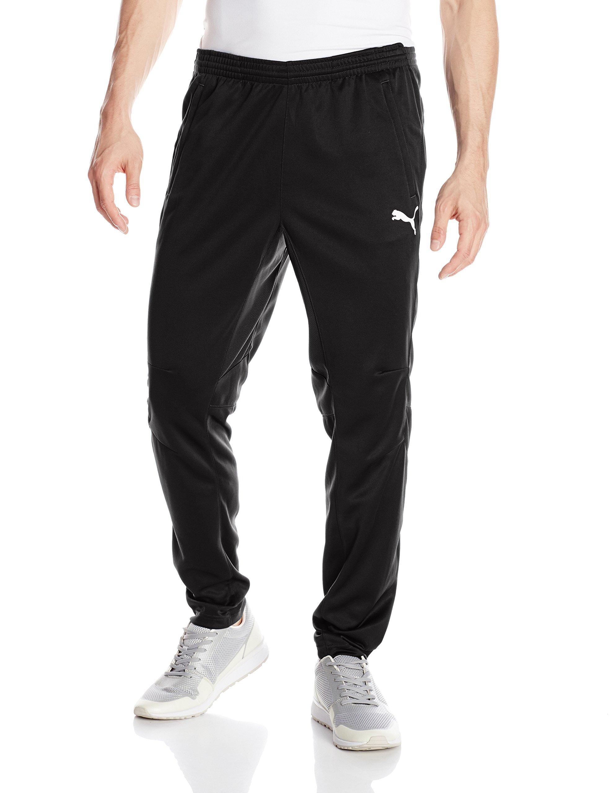 PUMA Men's Training Pant, Black/White, S