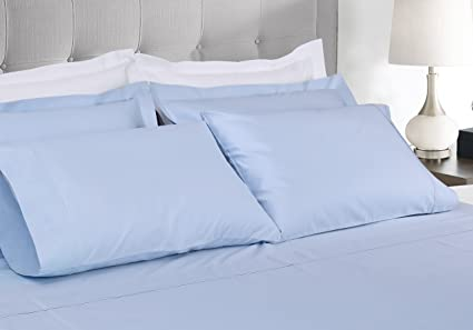 Exceptional 600 Thread Count 100% Extra Long Staple Cotton Sheet Set, Queen Sheets,