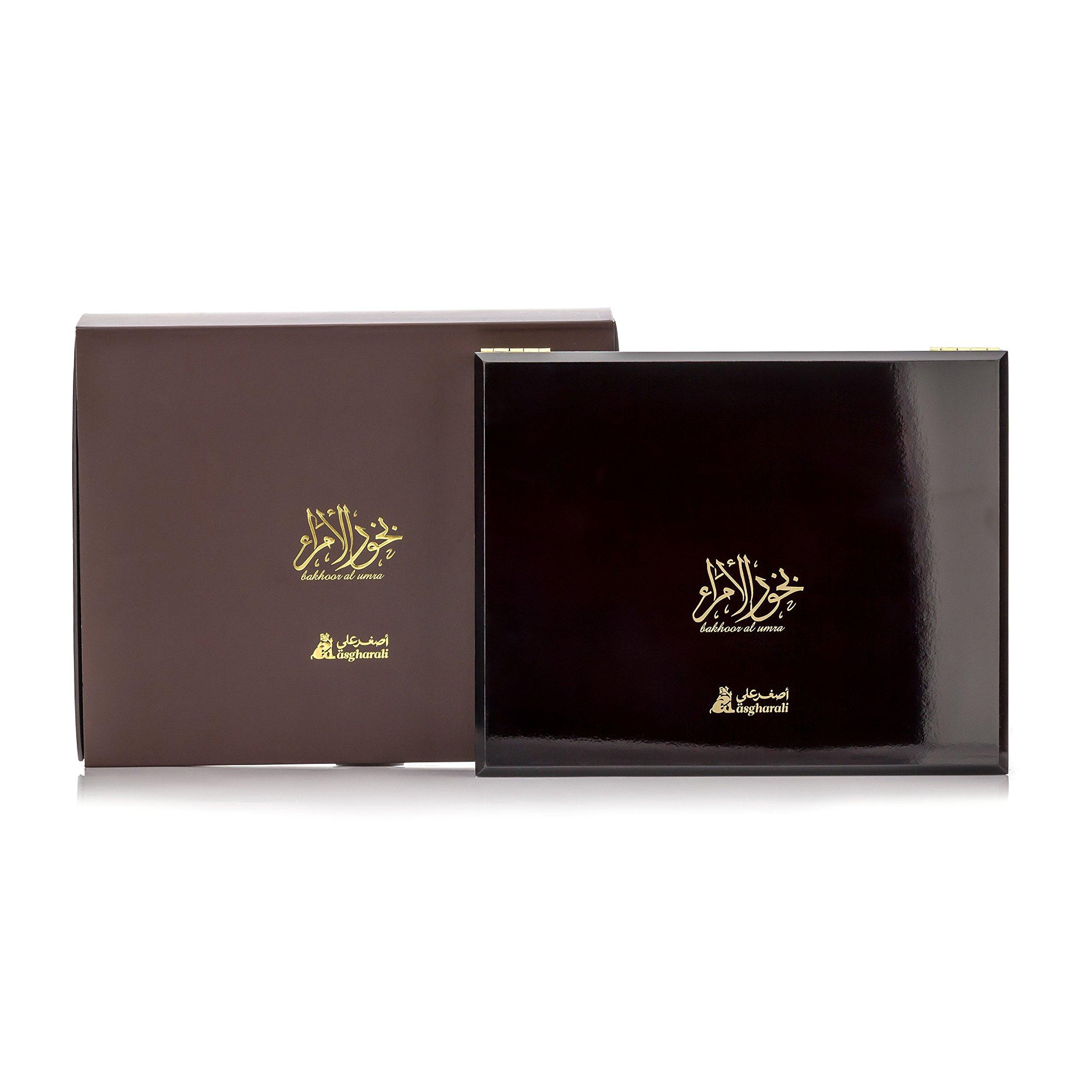 BAKHOOR AL UMRA 240gm Asgharali Arabic Incense, Agarwood Oudh, Woody Vanilla Spicy, Room Fragrance by Asgharali BAKHOOR AL UMRA (Image #3)