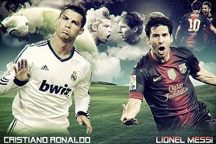 Hasil gambar untuk messi vs ronaldo