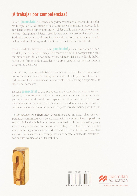 Taller de lectura y redacción 2 segundo semestre: Alma Yolanda ...