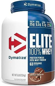 Dymatize Elite 100% Whey Protein Powder 25g Protein 5 Pound