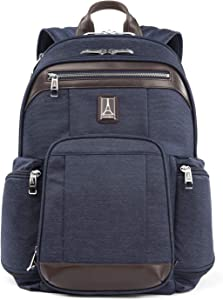 Travelpro Platinum Elite-17-Inch Business Laptop Backpack, True Navy, 17.5-Inch