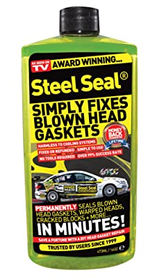Steel Seal Blown Head Gasket Fix Repair Sealer - 8 Cylinder