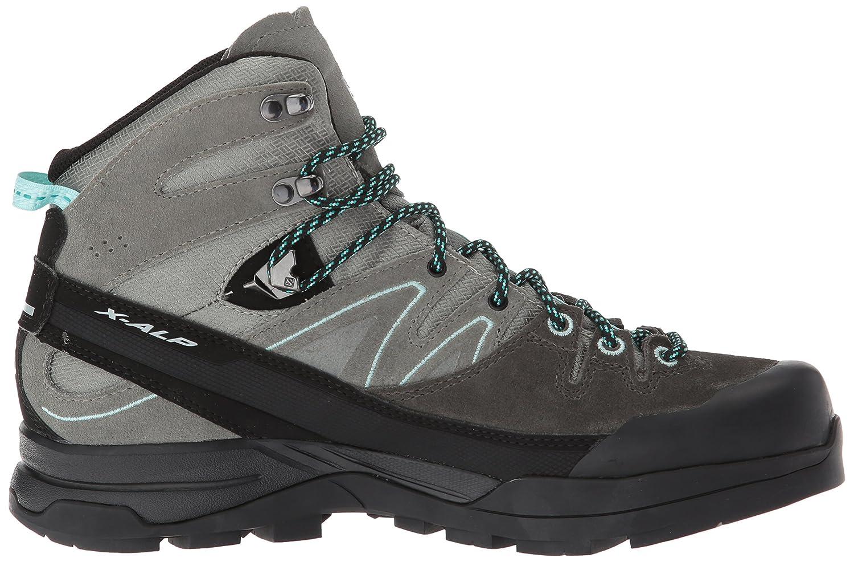 Salomon X Alp Mid LTR GTX Hiking Shoe B(M) - Women's B01HD2ZBR4 9.5 B(M) Shoe US|Shadow, Castor Gray, Aruba Blue 0f49cf