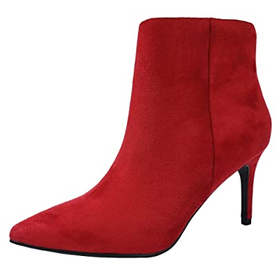 Classic Ankle Bootie Pointed Toe Stiletto Medium High Heel | Ankle & Bootie