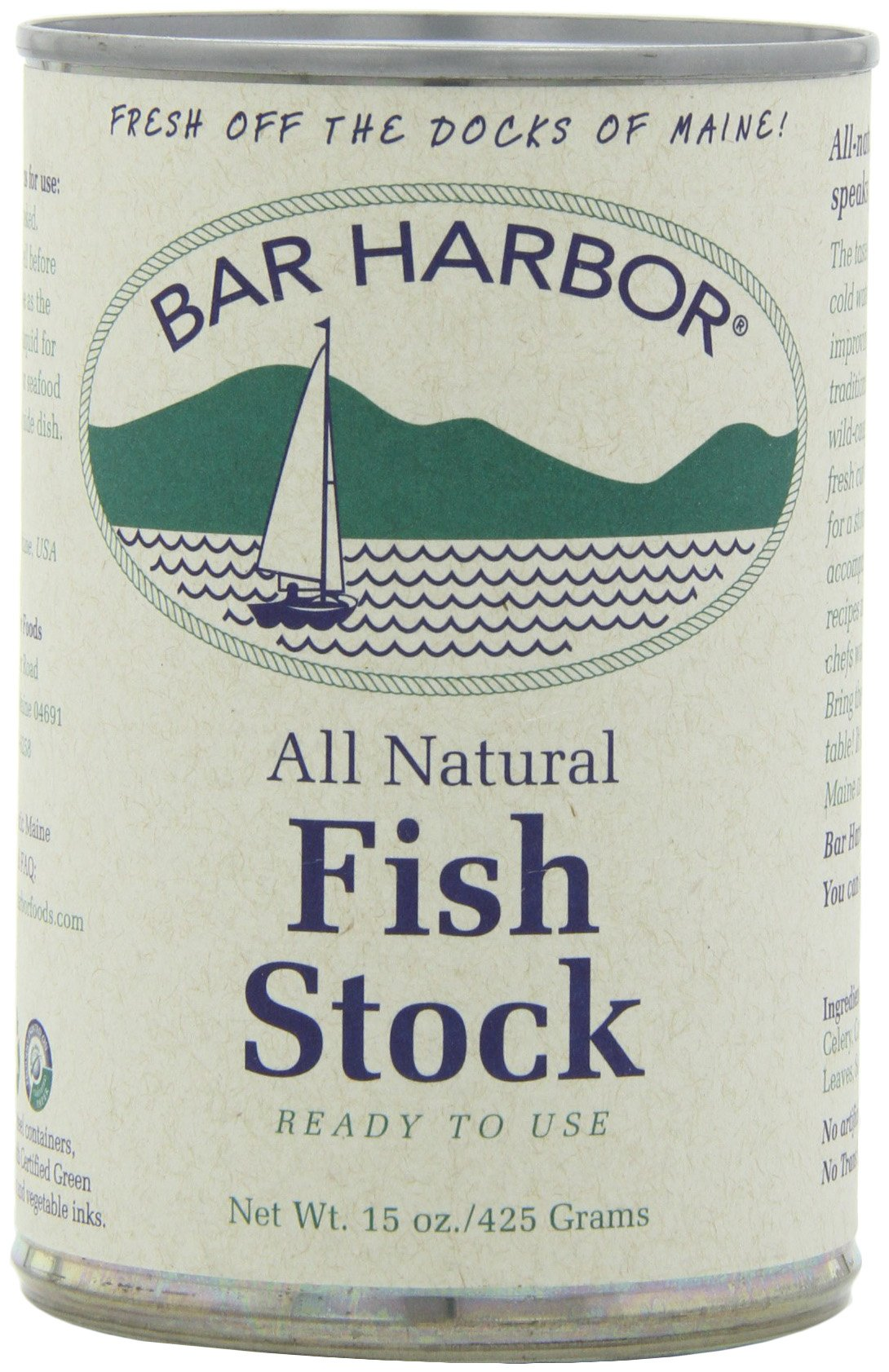 Bar Harbor Stock, Fish, 15 Ounce (Pack of 6)