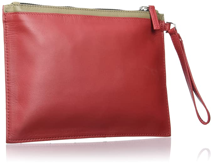Amazon.com: Mandarina Duck Coin Purse, Fire (Red ...