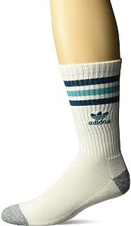 Amazon Com Adidas Men S Originals Crew Socks 3 Pack Sports