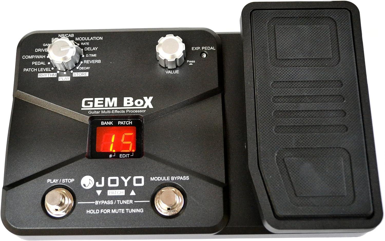 Joyo - Pedal multiefectos para guitarra (60 tipos e efectos ...