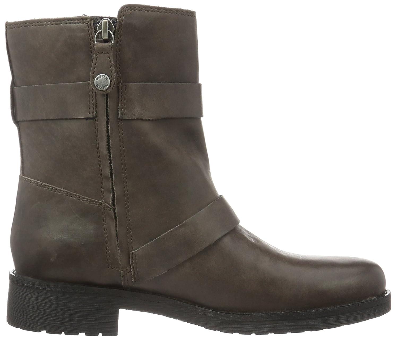 Geox Damen D New Virna E Biker Boots