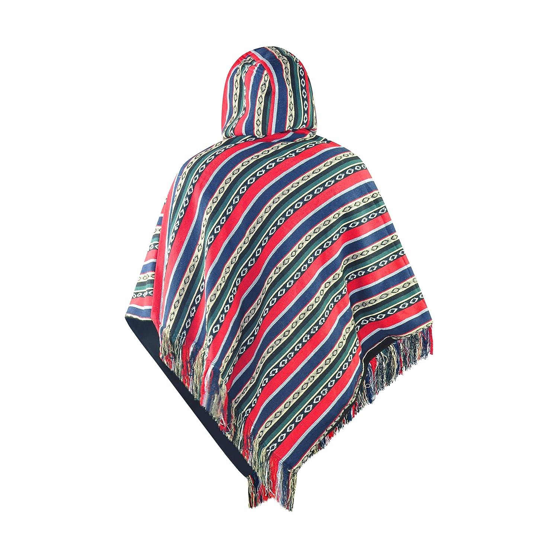 Poncho Men Hippie Poncho Fleece Poncho Warm Poncho Mexican Poncho virblatt Adelante