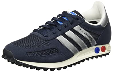 scarpe adidas blu la trainer