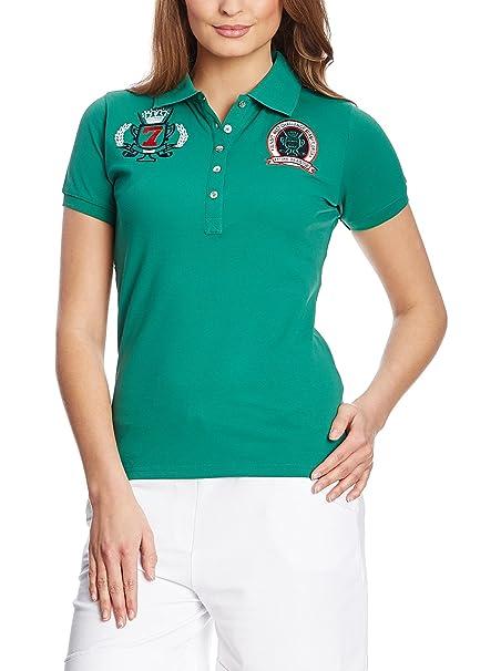 03c978756d0 Xfore Camiseta Polo de Golf técnica para Mujer, Bordado, Greenford, Color  Verde: Amazon.es: Ropa y accesorios