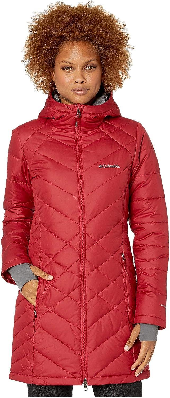 [Columbia(コロンビア)] レディースコート・ジャケット・アウター Heavenly Long Hooded Jacket Beet XS [並行輸入品]