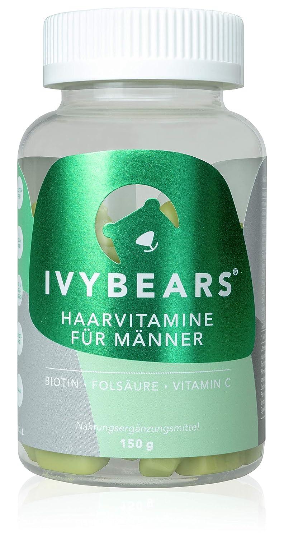IvyBears Haar Vitamine vollgepackt mit Biotin, Folsäure, Haarvitamine und Mineralstoffen Folsäure IVY GmbH Official
