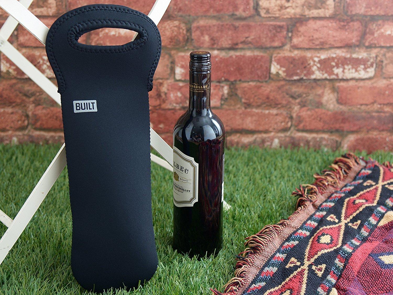 BUILT NY Original Stretchy Neoprene Wine/Water Bottle Tote