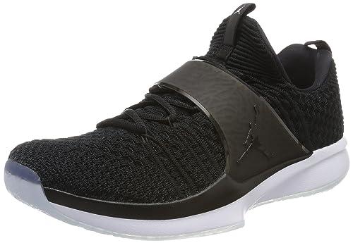 super popular 38c6e 2f65d NIKE Jordan Trainer 2 Flyknit, Zapatillas de Gimnasia para Hombre, Negro  Black-White, 42 EU  Amazon.es  Zapatos y complementos