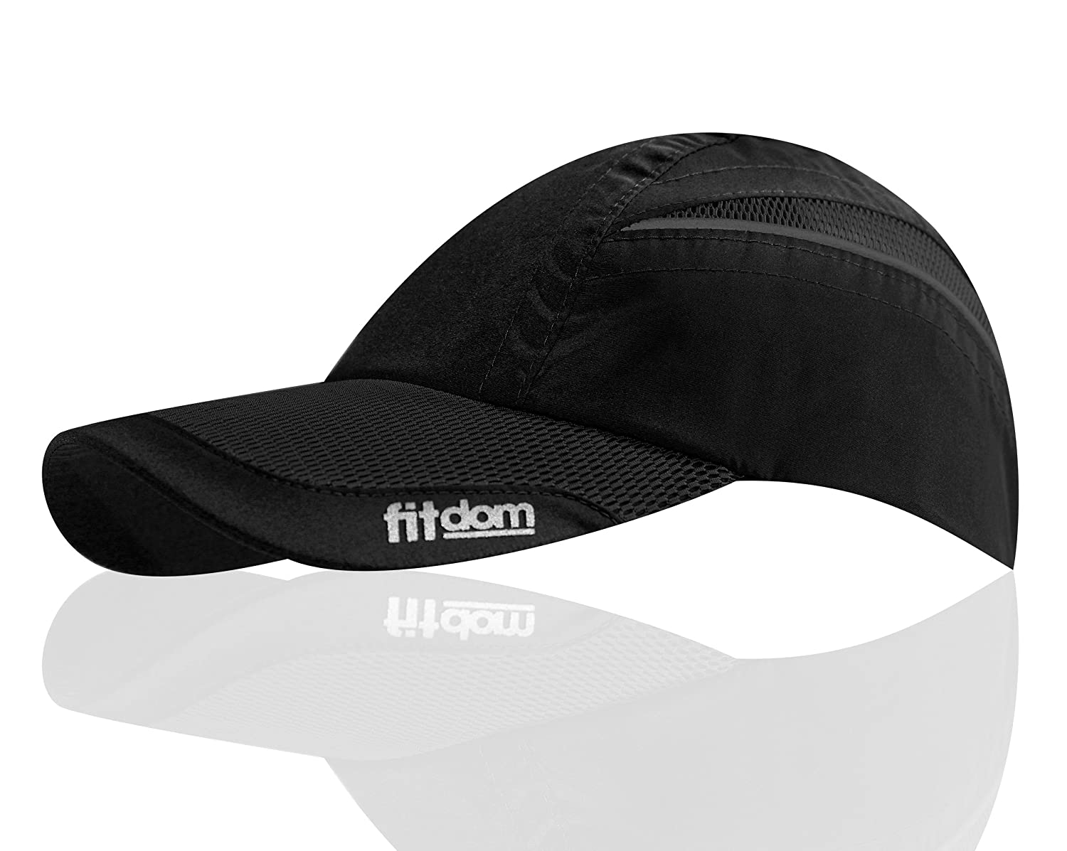 e2eed52a8df Amazon.com  Fitdom Lightweight Sports Cap for Men and Women
