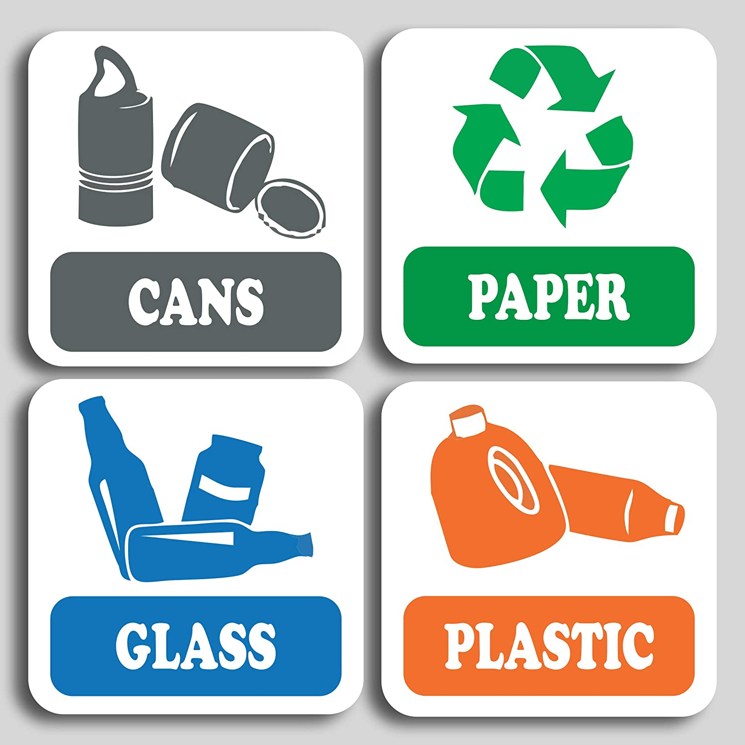 Recycle Decal Buy 1 Get 1 Free Every Quantity Vinyl Recycling Stickers