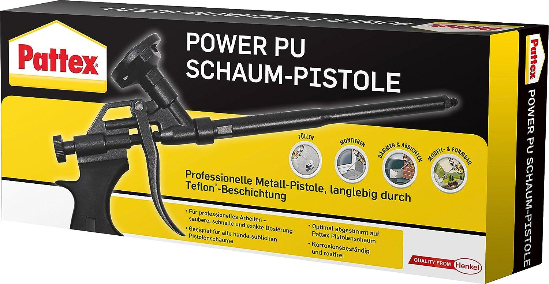Pattex 1431317 - Pistola para espuma de poliuretano: Amazon.es: Industria, empresas y ciencia