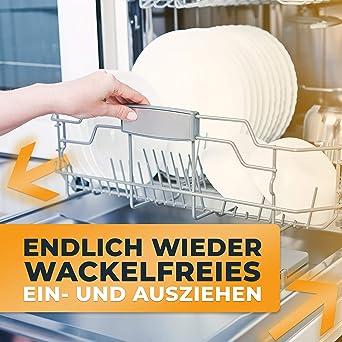 LÖWENHELD [8 unidades] – Juego de ruedas para lavavajillas – Ruedas universales para muchos lavavajillas Bosch, Neff, Siemens, etc. – ahora con rodillo 2019 mejorado 8er Set: Amazon.es: Grandes electrodomésticos
