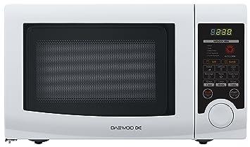 Daewoo KQG-6L3B Encimera 20L 700W Color blanco - Microondas (Encimera, 20 L