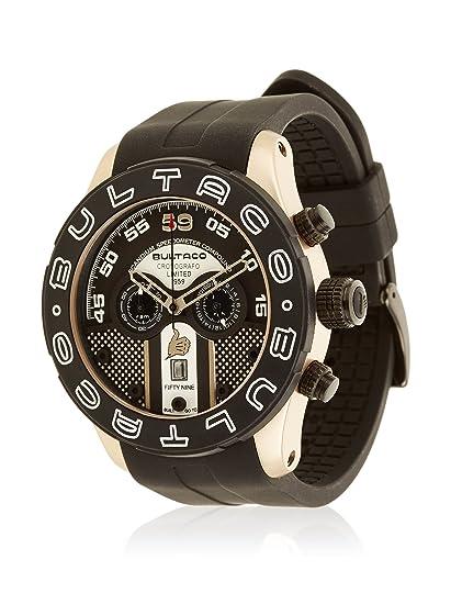 9e9e9814b73a Bultaco Reloj analogico para Hombre de Cuarzo con Correa en Acero Inoxidable  H1ST48C-S59  Amazon.es  Relojes
