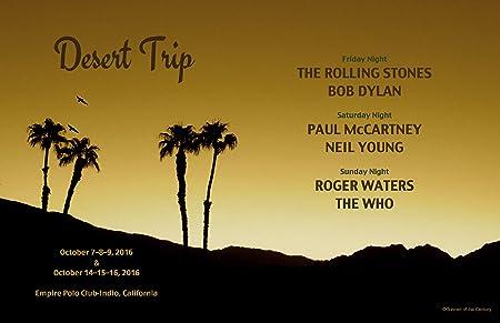 Golden Sunset fotografía, oldchella desierto viaje Póster, Rolling ...