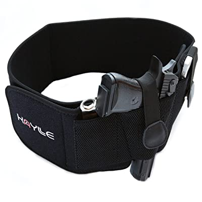 Kaylle Belly Band Holster for Concealed Carry - Most Comfortable Neoprene Inside Waistband Holster with Elastic Hand Gun Holder